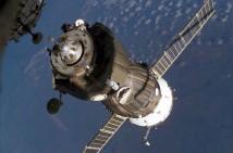 Soyuz TMA-12 på väg mot ISS