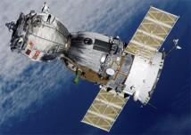 Soyuz TMA 7 på väg mot ISS