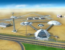 Virgin Galactic bygger en rymdhamn i Abu Dhabi