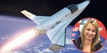 Kroatisk kvinna vinner en rymdresa ombord XCOR Lynx