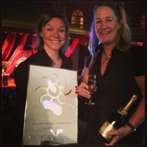 Spaceport Sweden vann Grand Travel Award som årets nydanare 2014