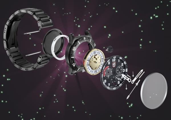 Luminox i ett klockrent samarbete med Space Expedition Curacao SXC