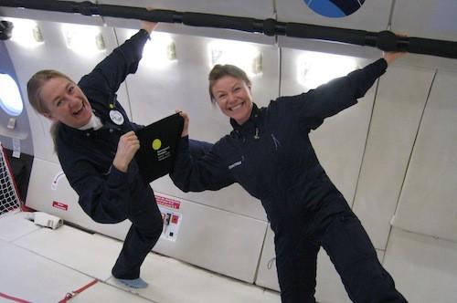 Premiär för Spaceport Swedens tyngdlöshetsflygningar