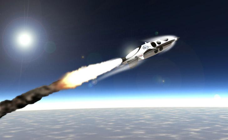 Obemannad rymdfarkost för rymdturister