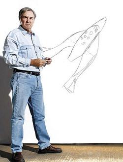 Burt Rutan erhåller Popular Mechanics Breakthrough Awards 2006