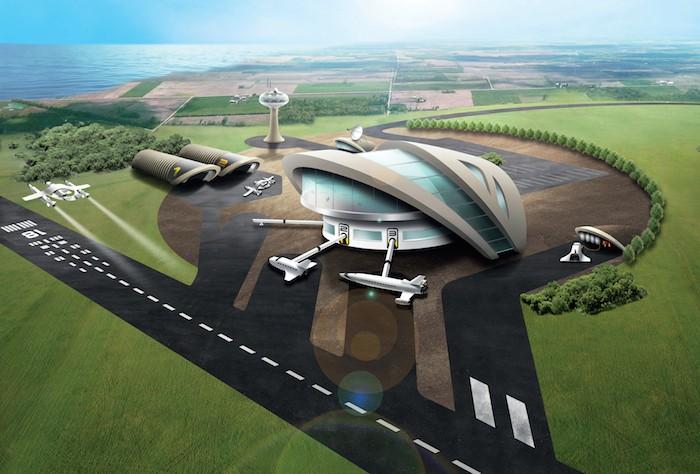 Europa får ytterligare en rymdhamn i kampen om att bli först