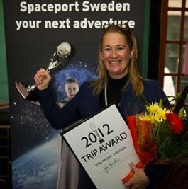Spaceport Sweden och rymdturismen prisas