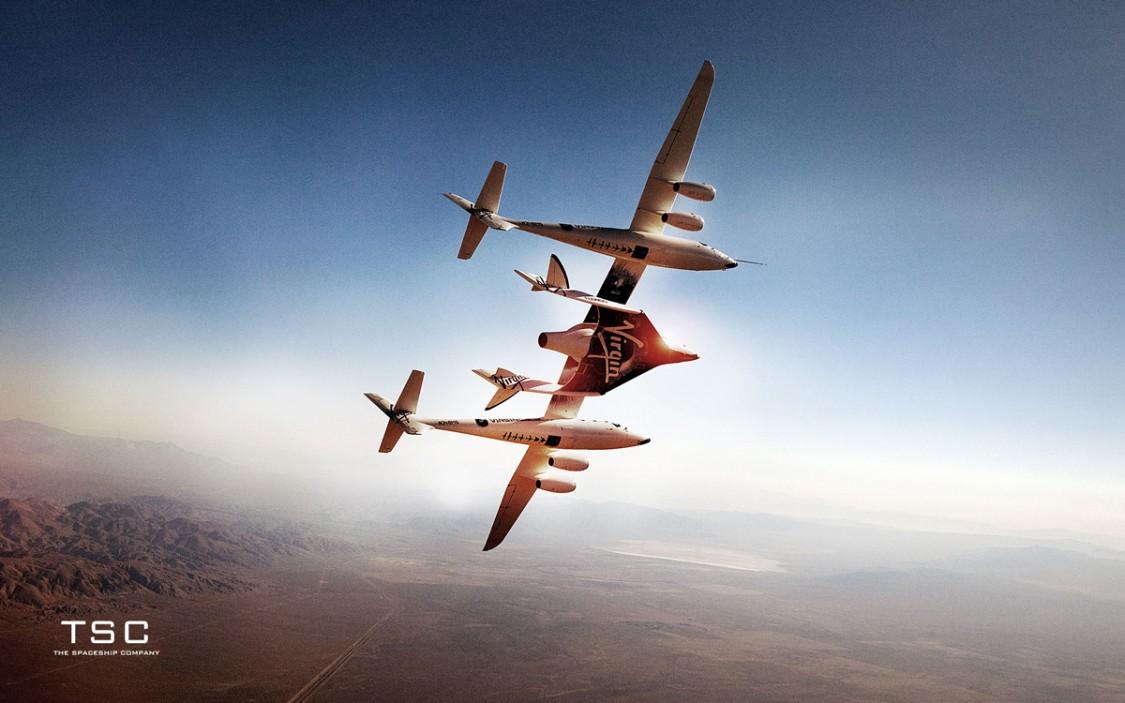 SpaceShipTwo slår på sin raketmotor i sommar
