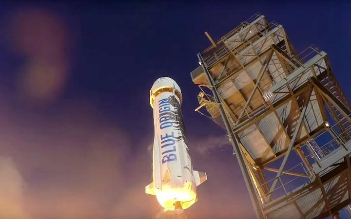 Blue Origin ska ta turister ut i rymden 2018