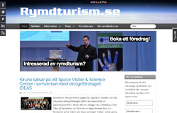 Nyheter om Rymdturism.se
